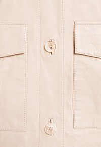 ALIGNE - CAMPBELL  - Leather jacket - buttermilk - 5