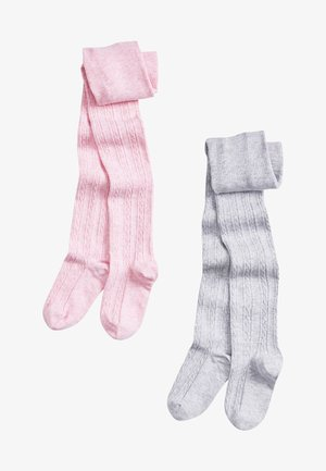 2 PACK - Knee high socks - pink