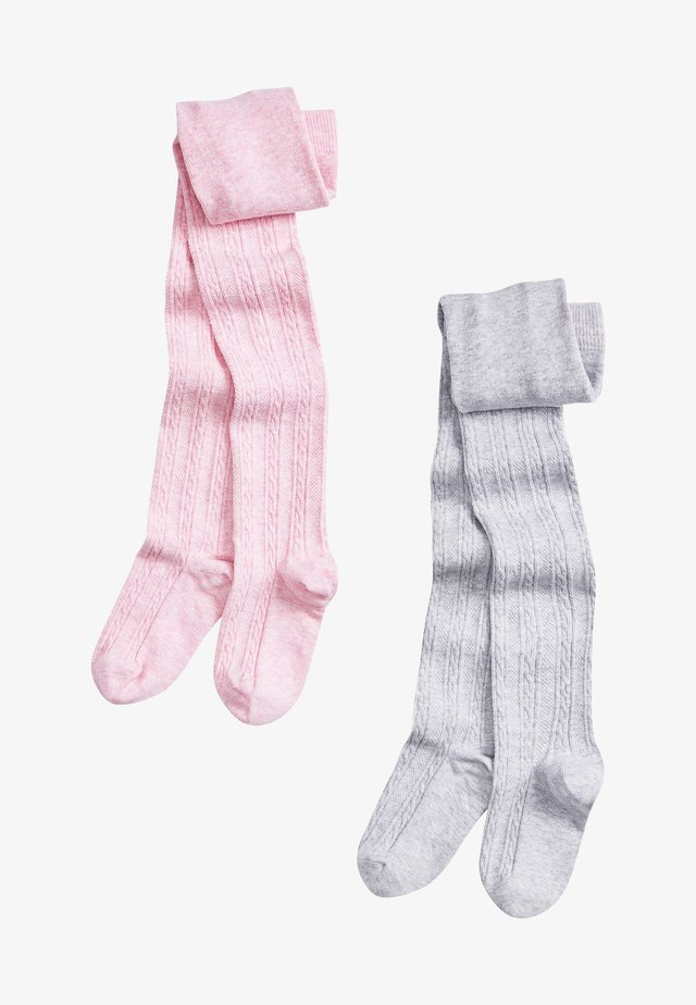 2 PACK - Polvisukat - pink