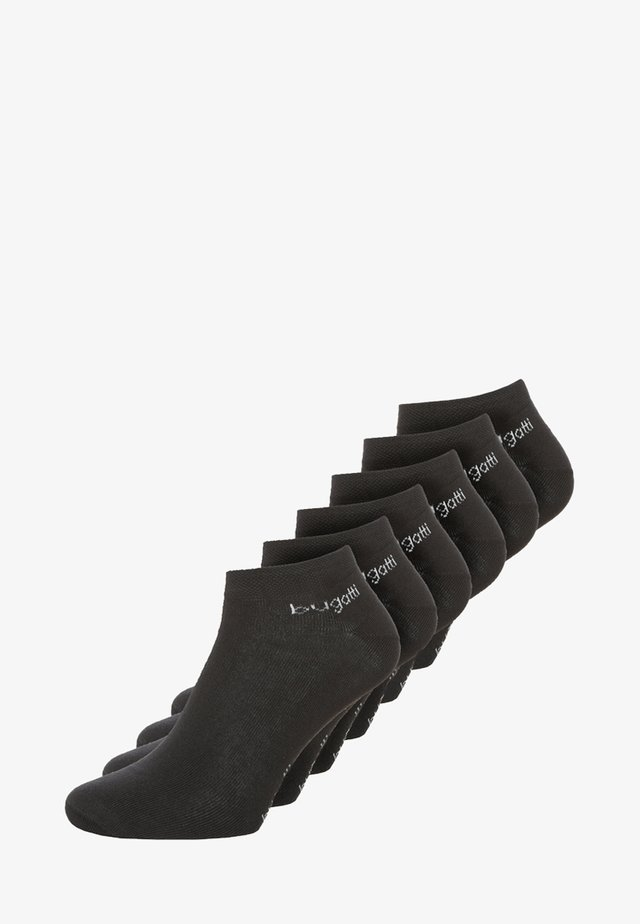 6 PACK - Trainer socks - black