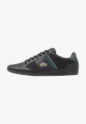 CHAYMON - Trainers - black/dark green