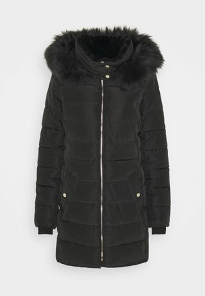 ONLCAMILLA QUILTED COAT - Winter coat - black