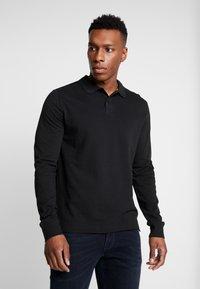 Pier One - 2 PACK - Polo shirt - mottled grey/black - 2