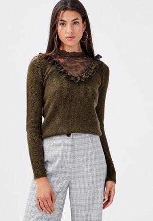 Pullover - vert kaki