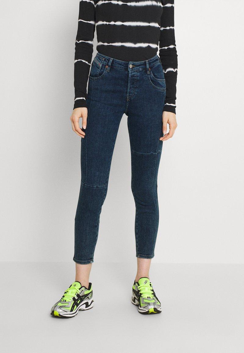 Diesel - BABHILA - Slim fit jeans - medium blue
