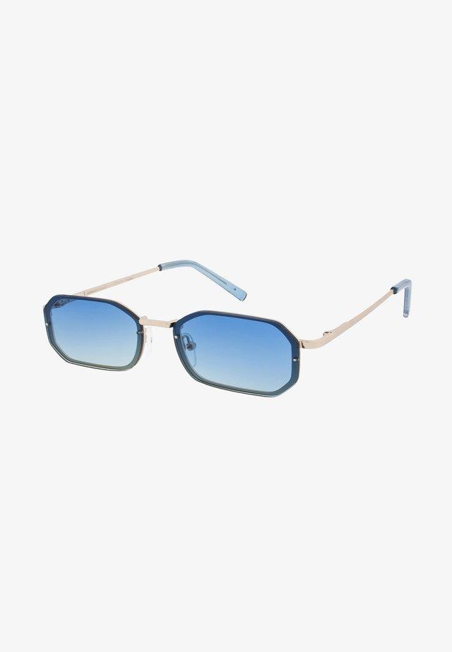 OLLIE - Sluneční brýle - matt gold