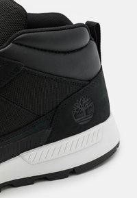 Timberland - SPRINT TREKKER SUPER - Lace-up ankle boots - black - 5