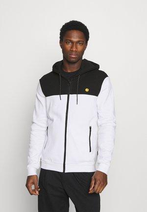 veste en sweat zippée - black