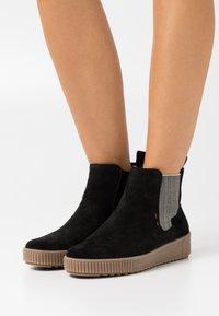 Rieker - Ankle boots - schwarz - 0
