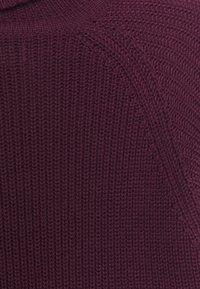 Brave Soul - GREENFORD - Stickad tröja - oxblood - 6