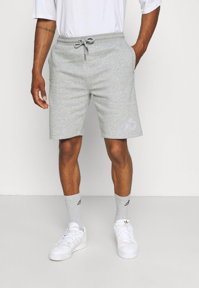 Kings Will Dream - CROSBY - Shorts - grey marl/white