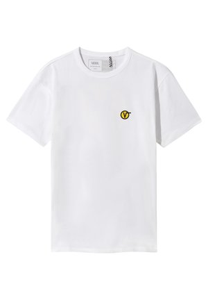 OFF THE WALL CLASSIC CIRCLE - T-shirt con stampa - white