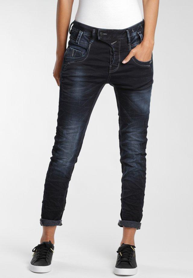 Slim fit jeans - wool night vint