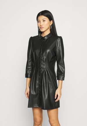 Shirt dress - noir
