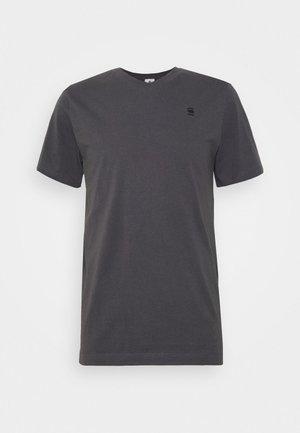BASE-S V T S\S - Basic T-shirt - lt shadow