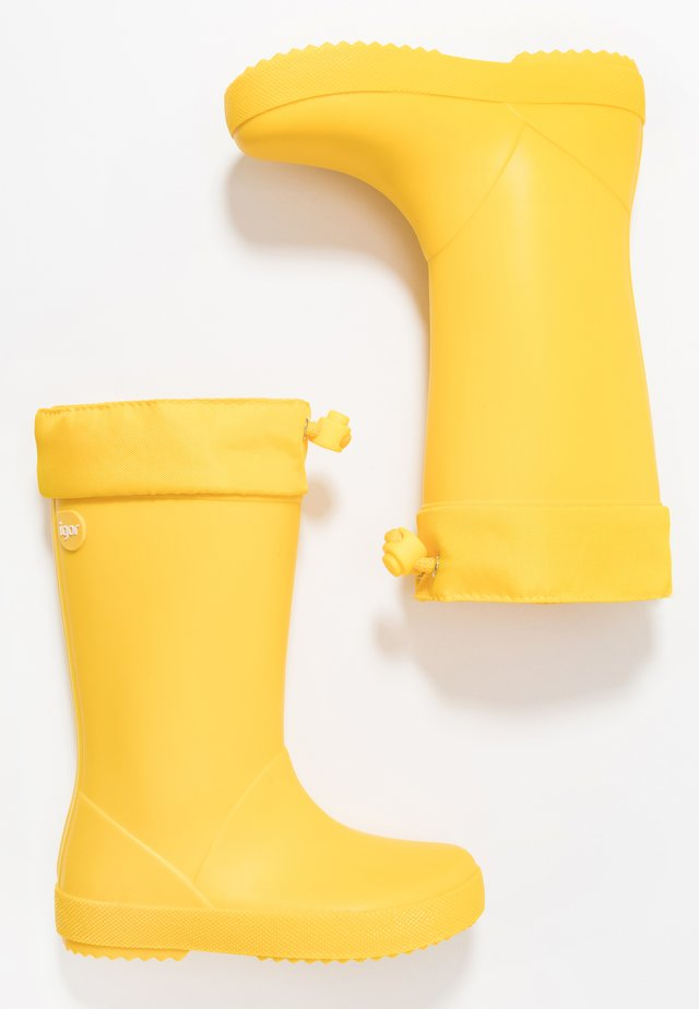 SPLASH COLE UNISEX - Bottes en caoutchouc - amarillo/yellow