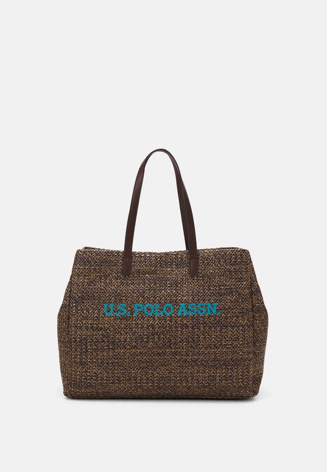 ITHACA LARGE SHOPPING - Shopping bag - brown