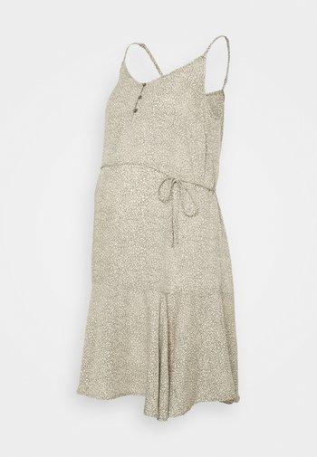 PCMNYA SLIP BUTTON DRESS