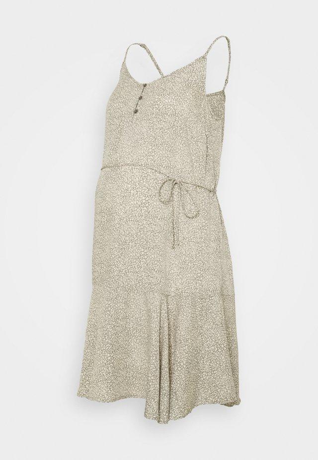 PCMNYA SLIP BUTTON DRESS - Vardagsklänning - shadow