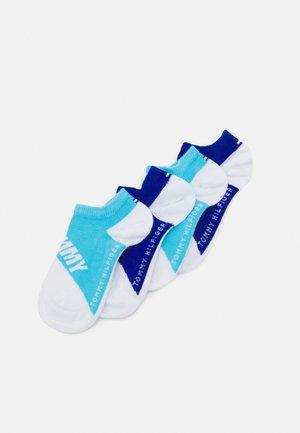 KIDS SNEAKER DIAGONAL COLORBLOCK 4 PACK UNISEX - Socks - blue combo