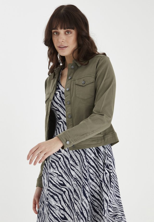 FRANSA  - Denim jacket - hedge