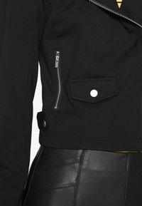 ONLY Tall - ONLPOPTRASH BIKER JACKET - Veste légère - black - 5