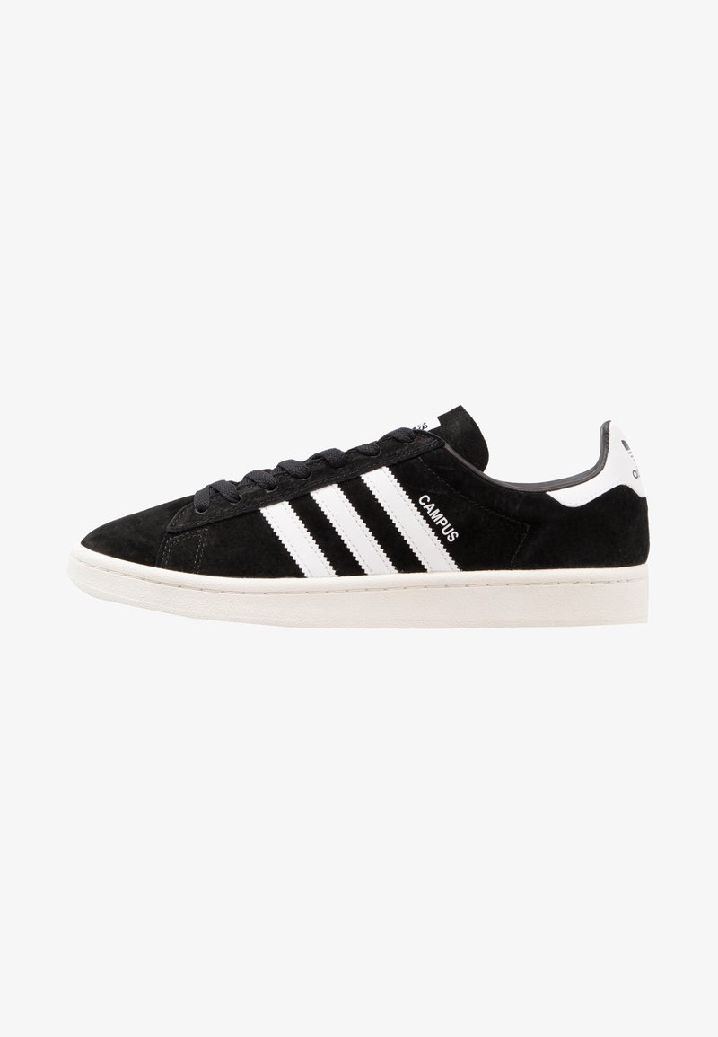 adidas Originals - CAMPUS - Baskets basses - core black/footwear white/chalk white