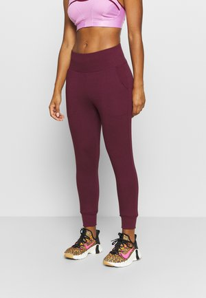 FLOW HYPER 7/8 PANT - Jogginghose - night maroon