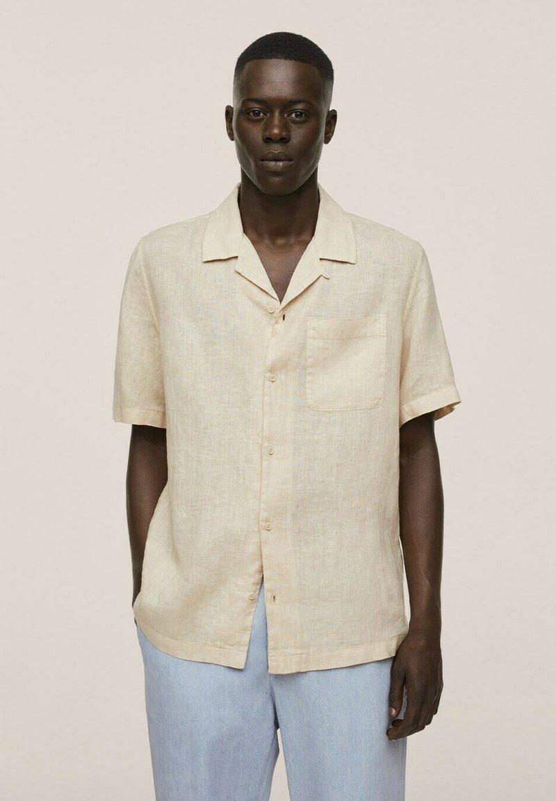 Mango - BOWLING REGULAR-FIT  - Shirt - beige