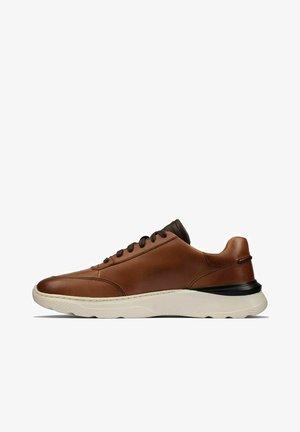 Sneakers laag - tan leather