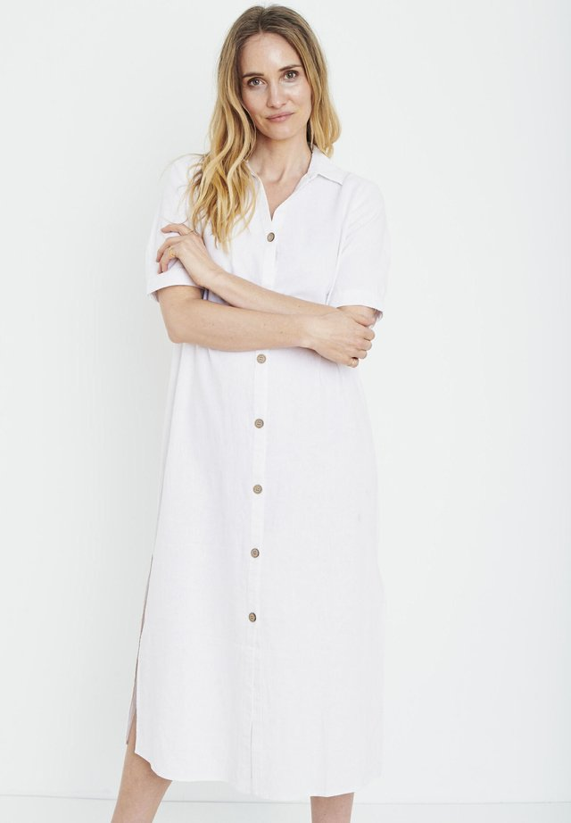 PZBIANCA - Shirt dress - bright white