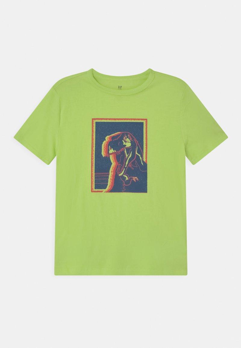 GAP - T-shirt con stampa - active yellow