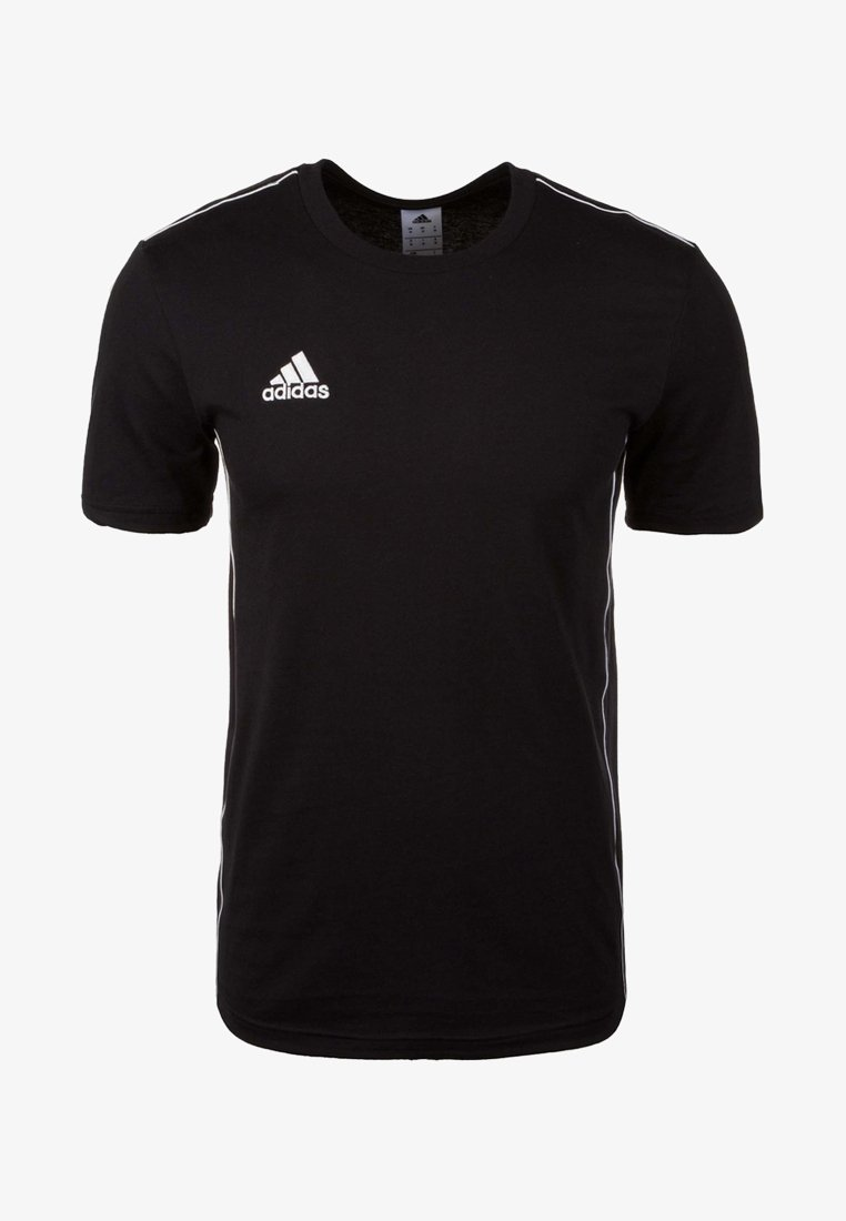 adidas Performance - CORE 18 - T-shirt med print - black
