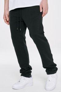 Pegador - LOGO WIDE PANTS UNISEX - Teplákové kalhoty - black - 3