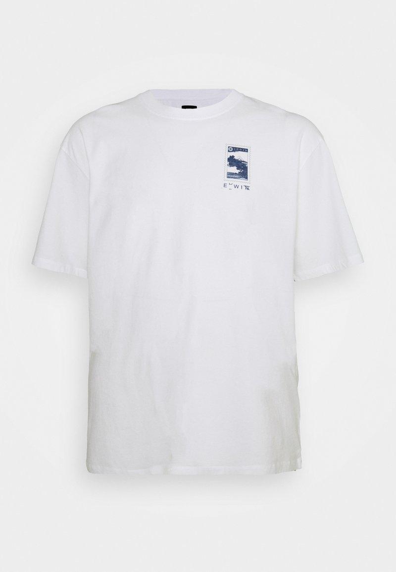 Edwin - FUJI SCENERY - Print T-shirt - white
