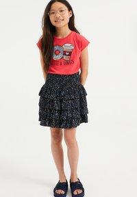 WE Fashion - T-shirt print - pink - 0