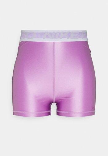 Collants - violet shock/white