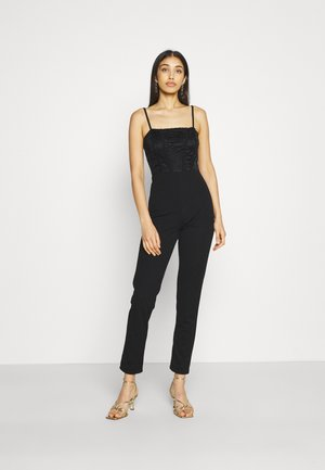 SHAHEEN LACE - Overall / Jumpsuit - black