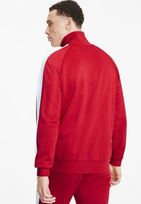 Puma - PUMA ICONIC T7 MEN'S TRACK JACKET MALE - Träningsjacka - high risk red - 2