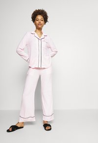Missguided - TOWEL SHIRT LONG - Pyjamas - pink - 1