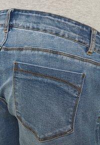MAMALICIOUS - MLYORK - Denim shorts - medium blue denim - 2