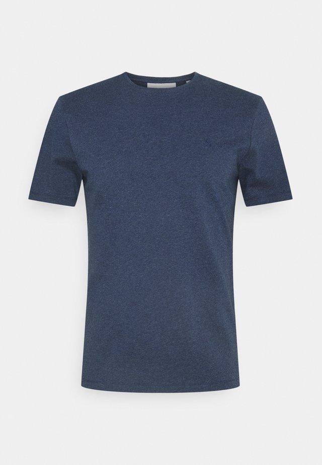 THOR CREW NECK  - T-shirt basique - blue indigo melange