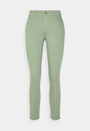 ONLBLUSH LIFE - Trousers - green milieu