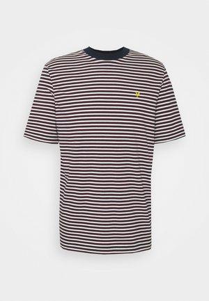 ARCHIVE STRIPE - Print T-shirt - dark navy