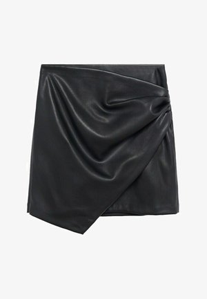 Wrap skirt - noir