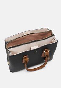 ALDO - BOZEMANI - Handbag - black/bone/tan - 2