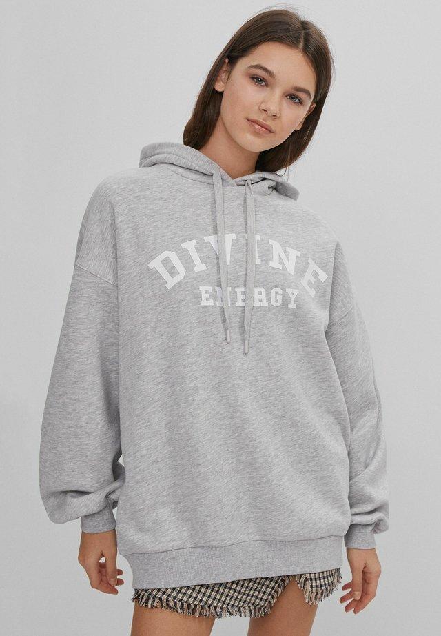Bluza z kapturem - light grey