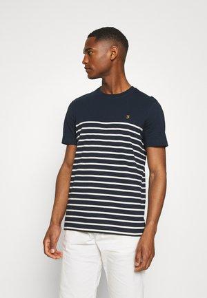 FLORIDA TEE - T-shirt med print - true navy