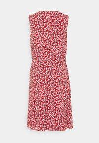 Lauren Ralph Lauren - ELNA SLEEVELESS DAY DRESS - Day dress - lighthouse navy/red/cream - 7