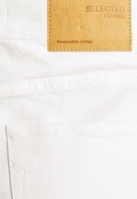 Selected Femme - SLFKENNA SKIRT - Mini skirt - white denim - 6